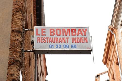 restaurant indien rue saint rome toulouse