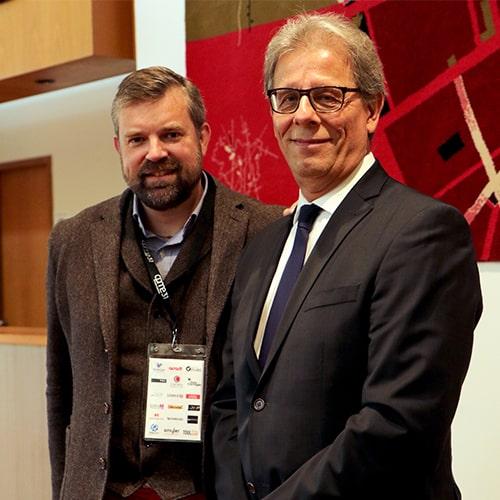 Gilles Nakache et Samuel Cette