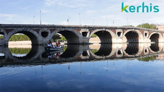 Pont-Neuf Garonne à Toulouse Kerhis