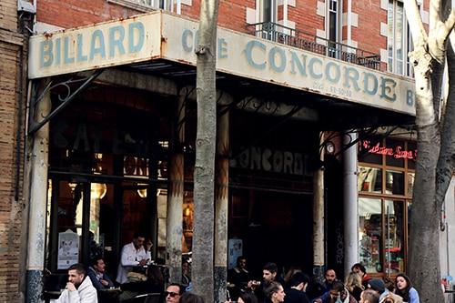 billard café bar concorde toulouse