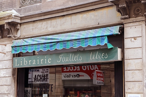 librairie feuillets libres enseigne toulouse
