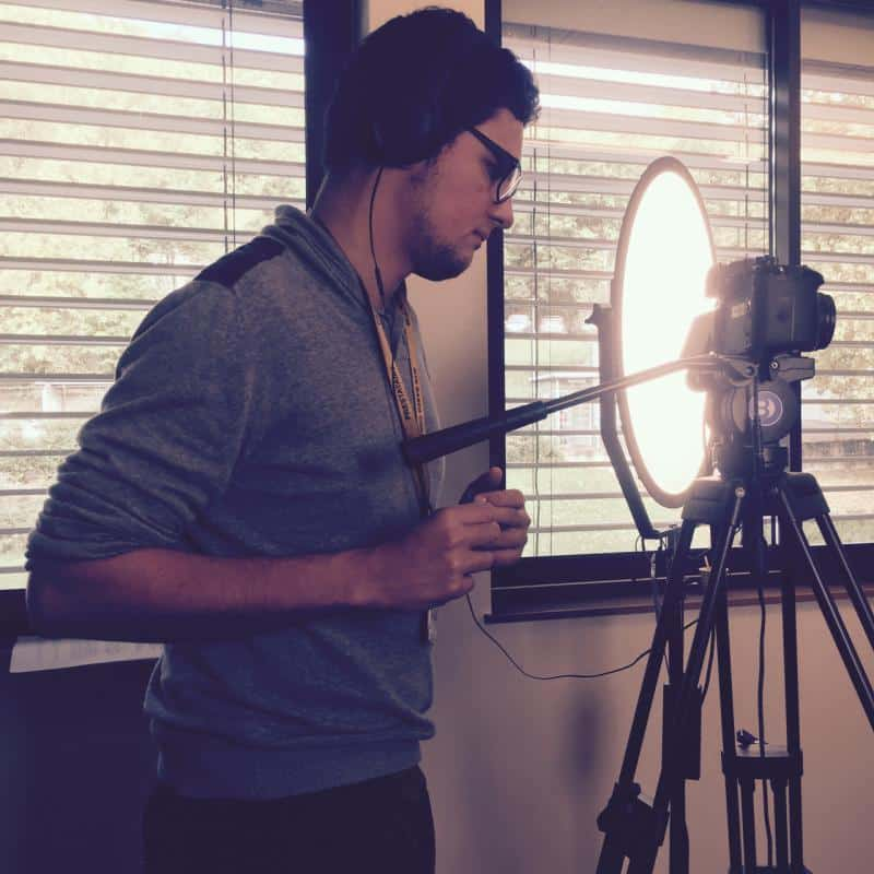 tournage interviews aérospatial