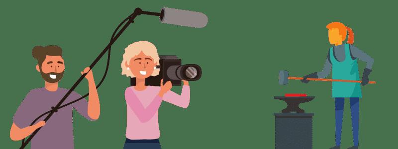 reportage vidéo entreprise institutionnel